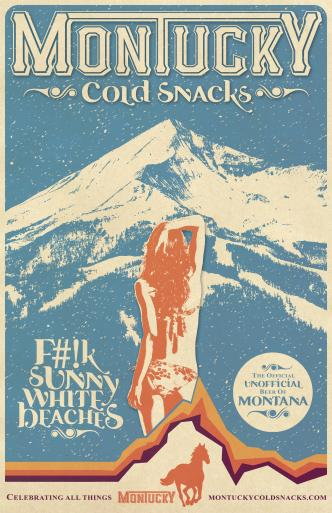 A Montucky Cold Snacks promotional poster. Image courtesy Montucky Cold Snacks