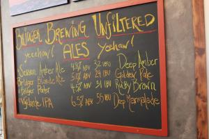 What's on tap? Photo by Brent Zundel