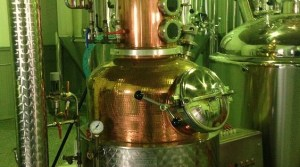 Distilling equipment at Bozeman Spirits Distillery. Photo courtesy Bozeman Spirits Distillery