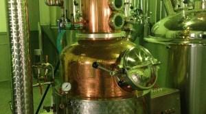 Distilling equipment at Bozeman Spirits Distillery. Photo courtesy Bozeman Spirits Distillery