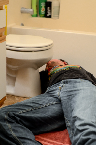 Your hangover will be worse if you sleep on the floor. Photo by Trevor Nelson, MSU Exponent
