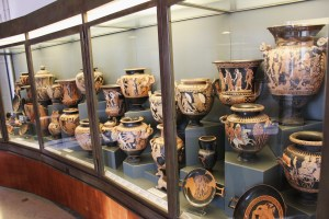 Etruscan pottery.