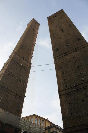 Bologna's Two Towers.