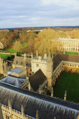 "A view of Magdalen (""maudlin) College from its tower."